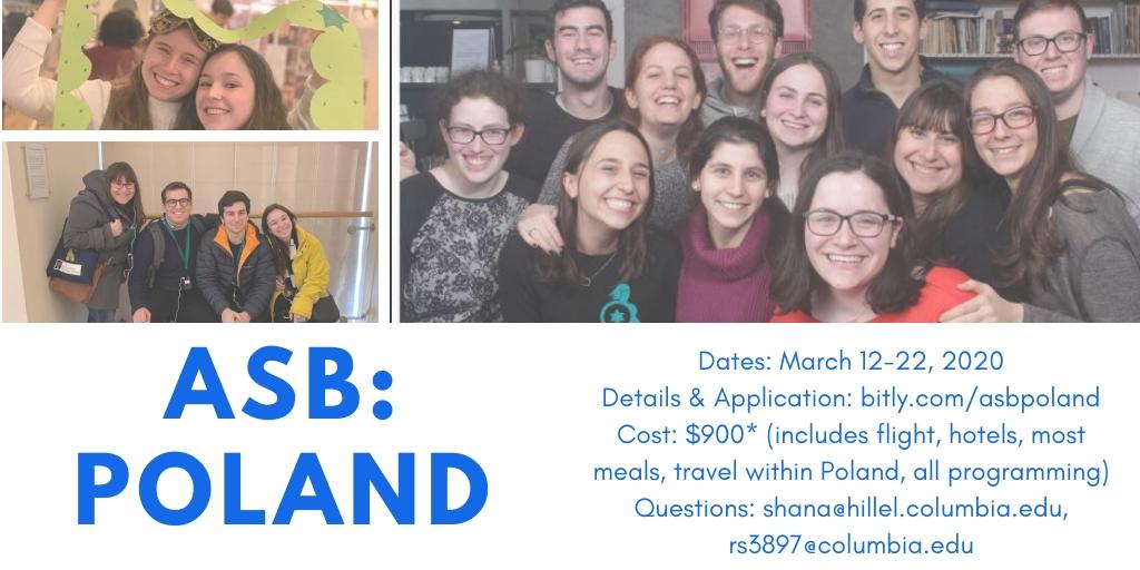 Barnard Graduation 2020.Asb Poland Columbia Barnard Hillel Columbia Barnard Hillel
